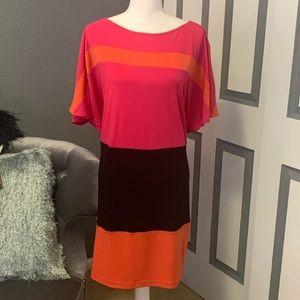 Peck & Peck dress with dolman sleeves